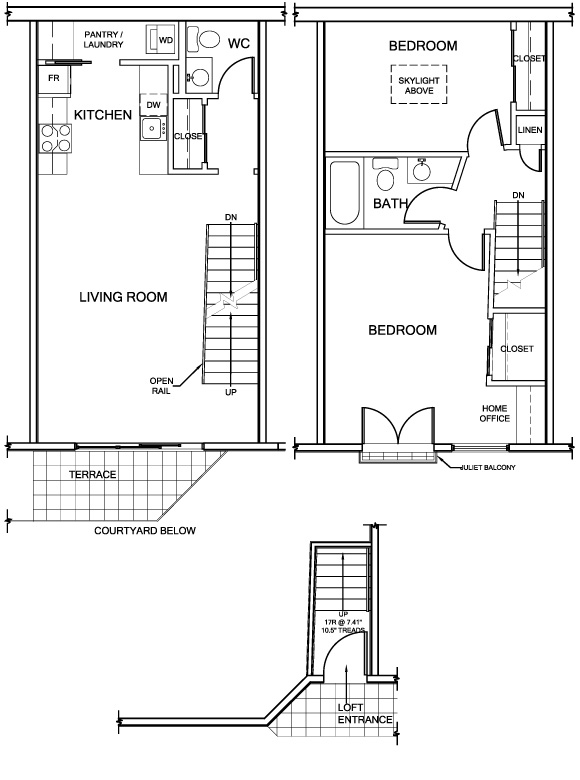 Furniture marketing plans norwegian wood for Loft floor plans with dimensions